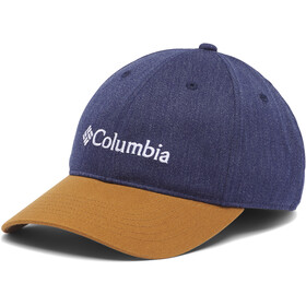 Columbia Lodge Verstelbare achter Ball Cap, collegiate navy heather/elk/gem logo